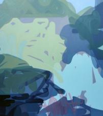 Waterlogged 1 2012, Oil on canvas 137cm x 122cm
