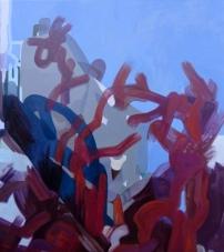"""""""Paris"""" 2012, Oil on canvas, 137cm x 122cm"""
