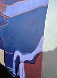 Transparent Night 2012, Oil on canvas 120cm x 90cm